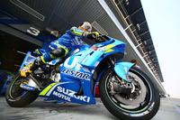 Alex Rins, Team Suzuki MotoGP avec le nouveau carénaage