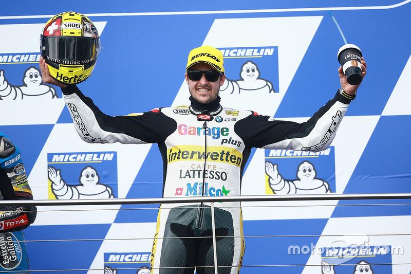 """Thomas """"Tom"""" Lüthi – Sieger Moto2"""