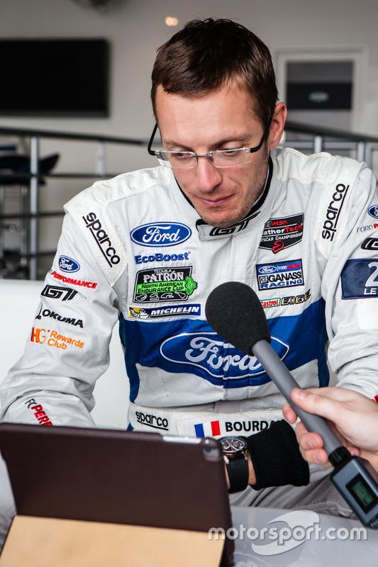 #68 Ford Chip Ganassi Racing Ford GT: інтерв'ю Себастьяна Бурде для Motorsport.com