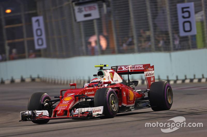 5. Kimi Räikkönen, Scuderia Ferrari SF16-H