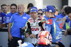 Maverick Viñales, Team Suzuki MotoGP y Cal Crutchlow, Team LCR Honda