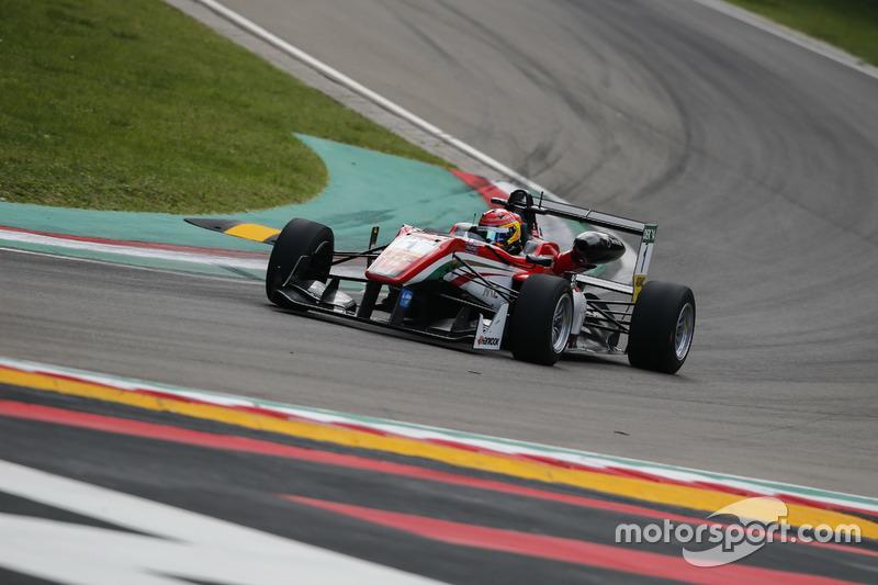 Lance Stroll, Prema Powerteam Dallara F312, Mercedes-Benz