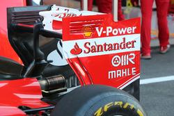 Заднее крыло Ferrari SF16-H в субботу
