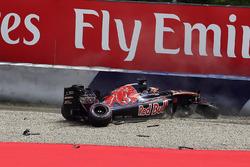 Аварія Данііла Квята, Scuderia Toro Rosso