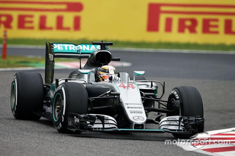 2. Lewis Hamilton, Mercedes AMG F1 W07 Hybrid