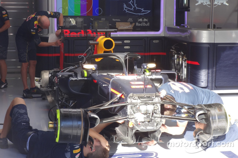 Halo kokpit, Daniel Ricciardo, Red Bull Racing RB12