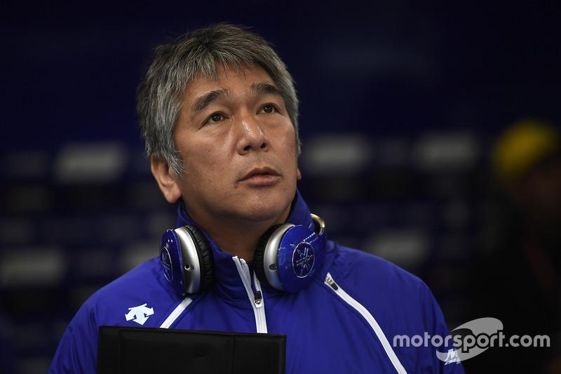 Kouichi Tsuji, General Manager Motorsports Development Division, Yamaha Motor