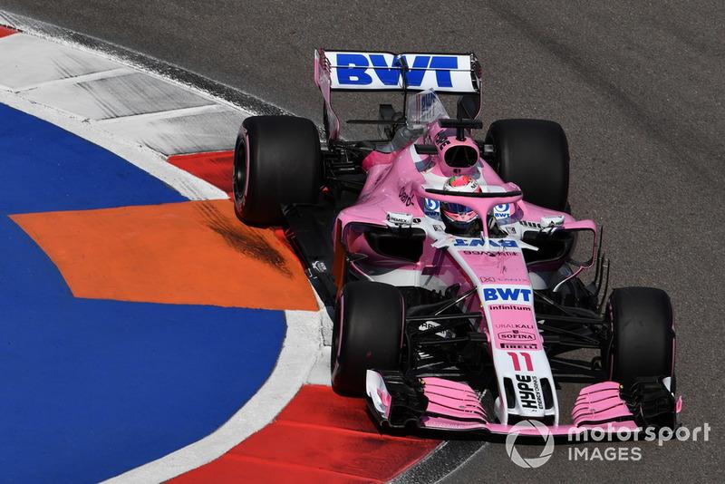 8 місце — Серхіо Перес, Force India — 71