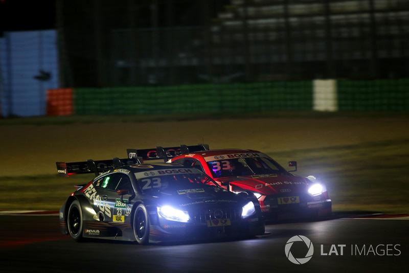 Daniel Juncadella, Mercedes-AMG Team HWA, Mercedes-AMG C63 DTM, René Rast, Audi Sport Team Rosberg, Audi RS 5 DTM
