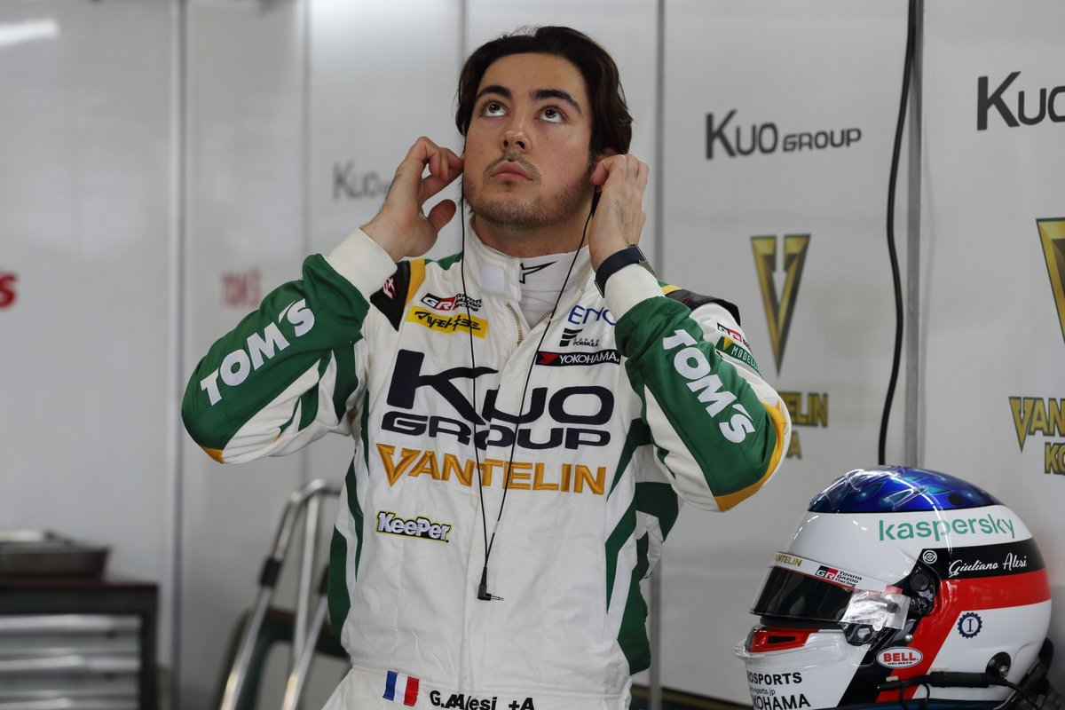 Giuliano Alesi, Kuo VANTELIN TEAM TOM'S