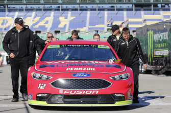Ryan Blaney, Team Penske, Ford Fusion Menards/Wrangler Riggs Workwear