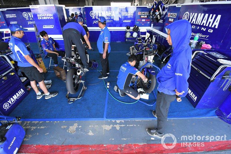 Paddock Yamaha Racing Indonesia