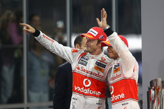 Jenson Button, Lewis Hamilton, McLaren MP4-25