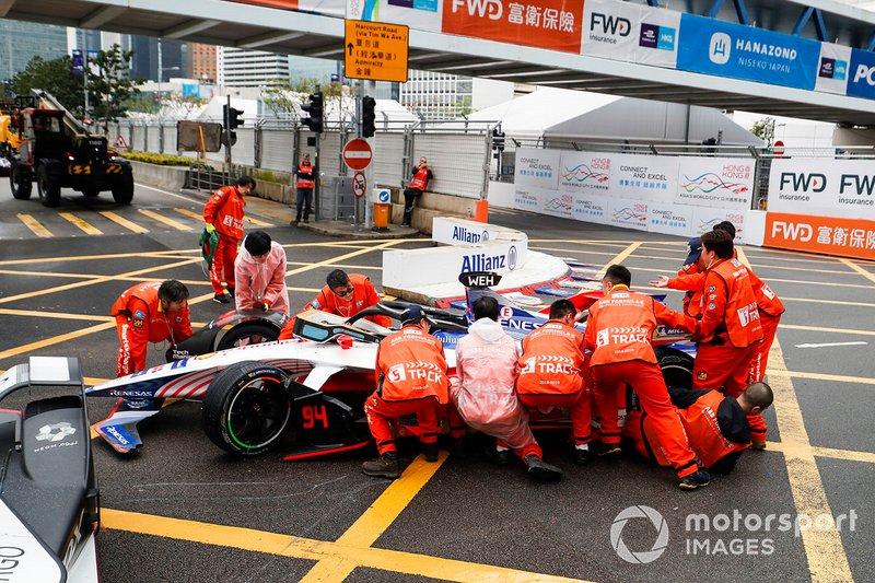 Mobil Pascal Wehrlein, Mahindra Racing, M5 Electro