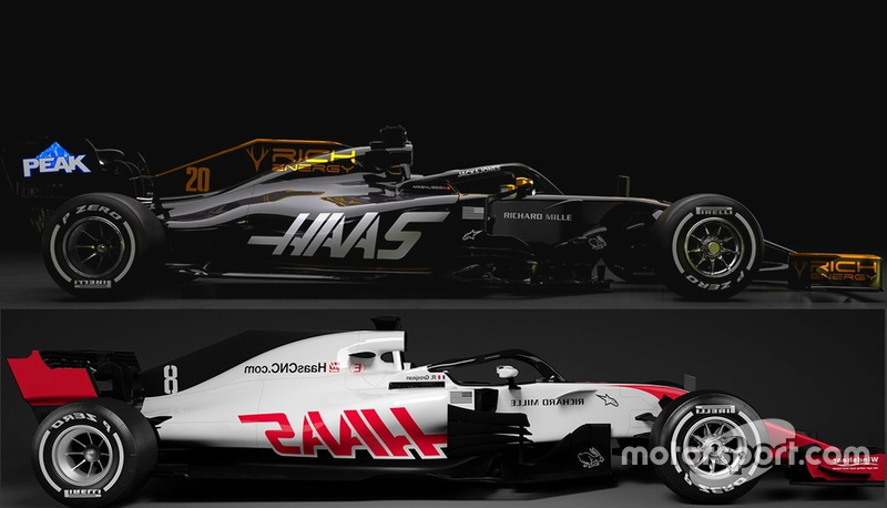 Haas VF-19 vs VF-18