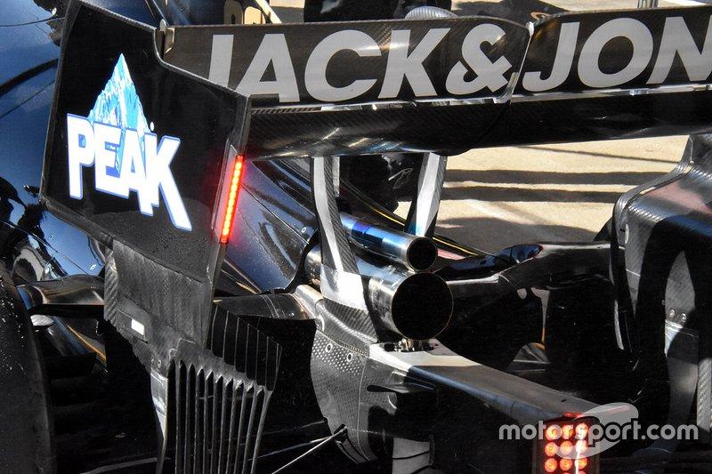Haas F1 Team VF-19, részlet