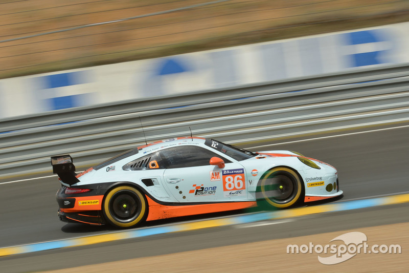 LMGTE-Am: #86 Gulf Racing, Porsche 911 RSR