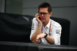 Andy Shovlin, Mercedes AMG F1 Engineer