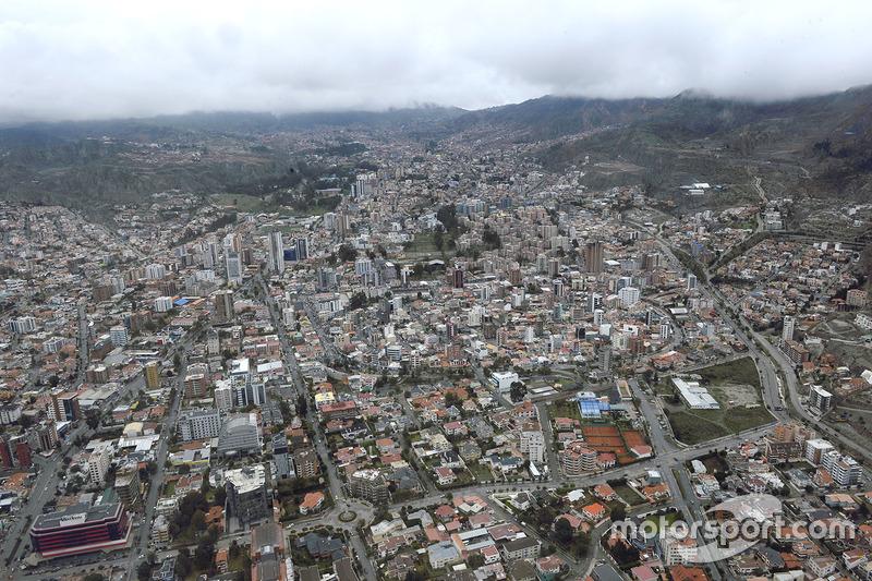 Paisaje en Bolivia