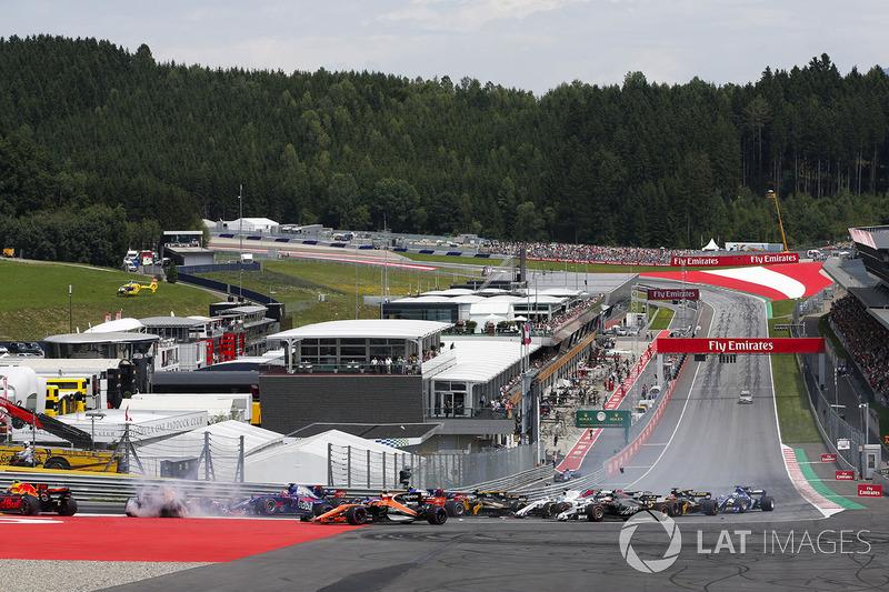 Данііл Квят, Scuderia Scuderia Toro Rosso STR12, Фернандо Алонсо, McLaren MCL32, Макс Ферстаппен, Re