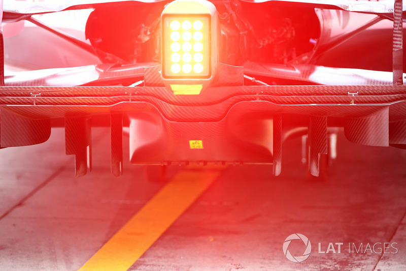 Sahara Force India VJM10 rear diffuser detail