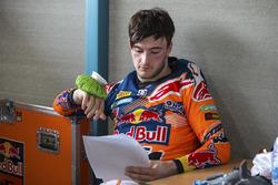Jeffrey Herlings di paddock KTM