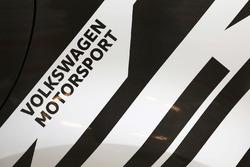 Volkswagen Motorsport logo detail