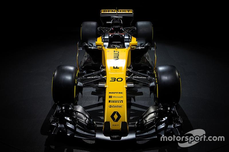 El Renault Sport F1 Team RS17