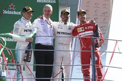 Podium: 1. Lewis Hamilton, Mercedes AMG F1, 2. Valtteri Bottas, Mercedes AMG F1, 3. Sebastian Vettel, Ferrari