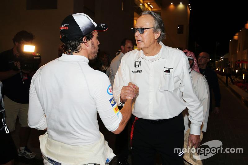 Fernando Alonso, McLaren con Mansour Ojjeh, accionista de McLaren