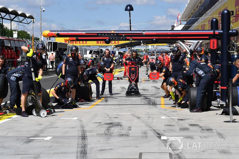 Mechaniker: Red Bull Racing