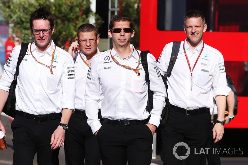 Андрій Шовлін, інженер Mercedes AMG F1 та керівництво Mercedes AMG F1