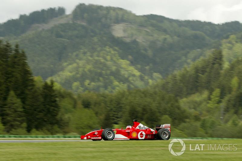 27. Рубенс Баррикелло, Ferrari F2002, Гран При Австрии-2002 (Шпильберг): 1:08,082
