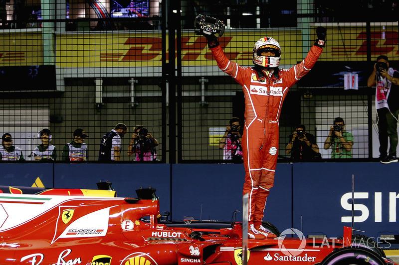 14º GP de Singapur 2017 - Pole para Sebastian Vettel