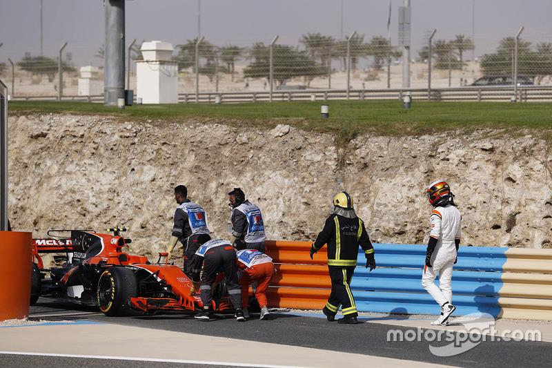 Auto de Stoffel Vandoorne, McLaren MCL32