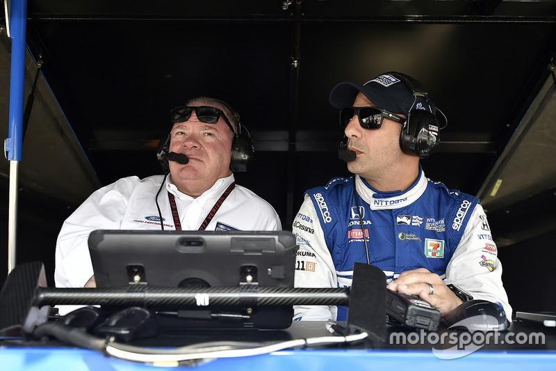 Tony Kanaan, Chip Ganassi Racing, Honda, mit Chip Ganassi