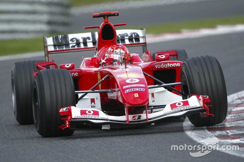 2004 : Ferrari F2004
