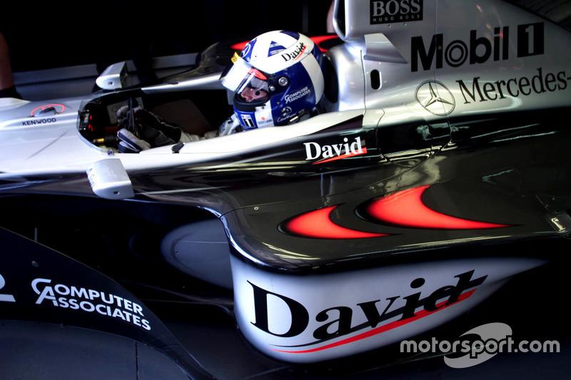 1º David Coulthard: 150 grandes premios