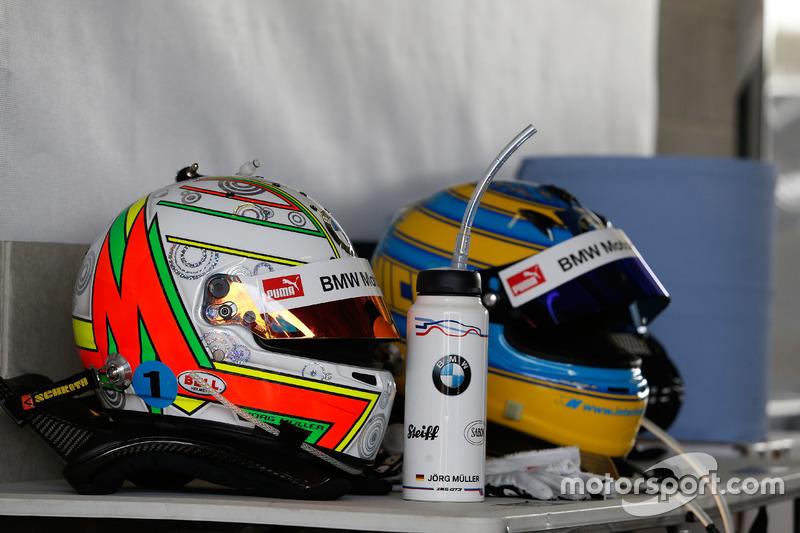 Casco de #99 Walkenhorst Motorsport, BMW M6 GT3: Jörg Müller, Nico Menzel