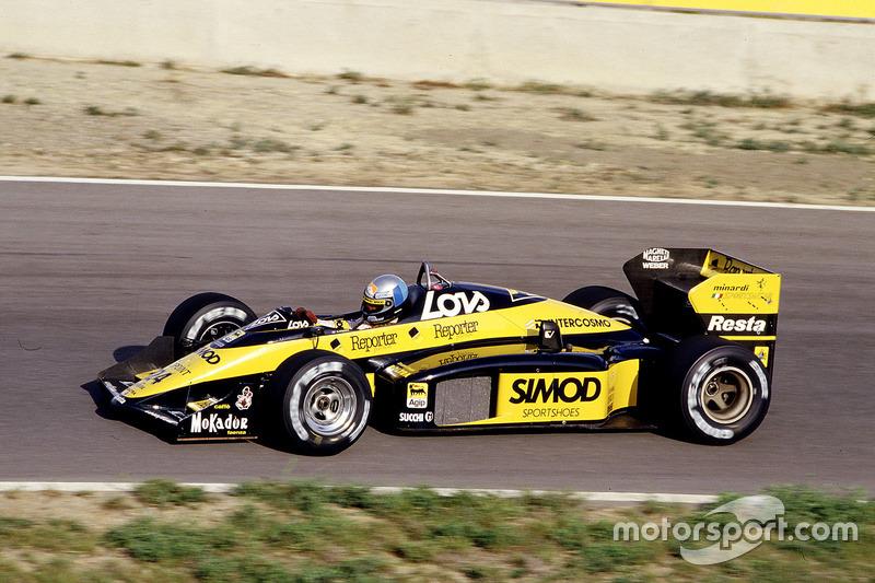 Alessandro Nannini, Minardi M187 Motori Moderni