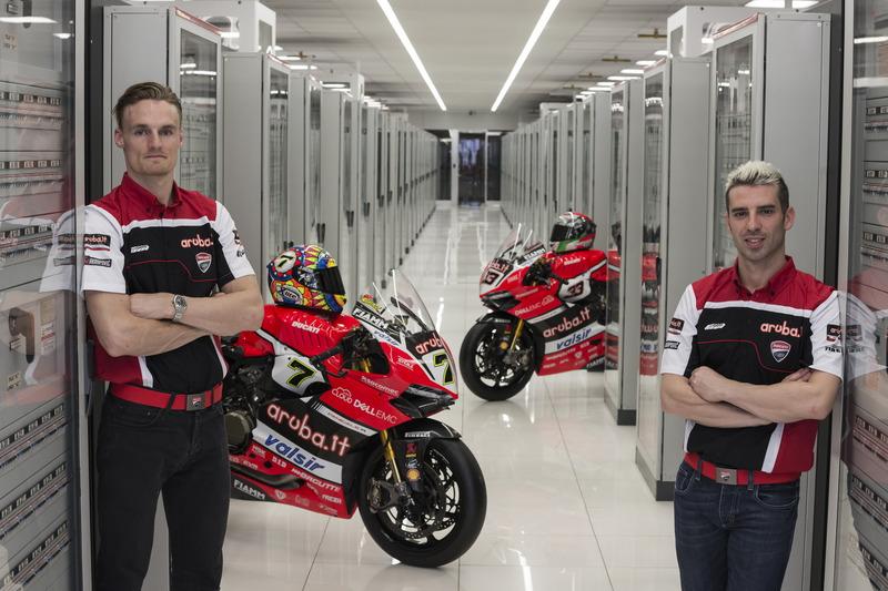 Chaz David y Marco Melandri, Ducati Team
