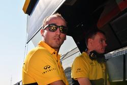 Алан Пермейн, гоночний інженер Renault Sport F1 Team, Роберт Кубіца, Renault Sport F1 Team
