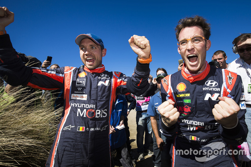 #3: 1. Thierry Neuville, Nicolas Gilsoul, Hyundai Motorsport