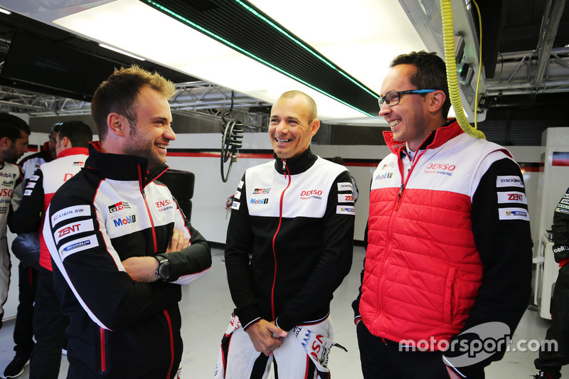 Nicolas Lapierre, Stephane Sarrazin, Toyota Gazoo Racing