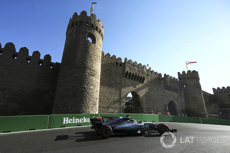 Fórmula 1 Los horarios de F1 y F2 en Bakú