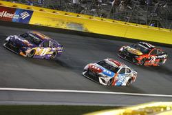 Denny Hamlin, Joe Gibbs Racing Toyota Kyle Busch, Joe Gibbs Racing Toyota Martin Truex Jr., Furniture Row Racing Toyota