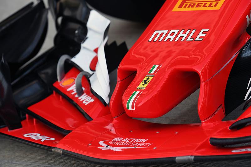 Ferrari SF70H nose detail