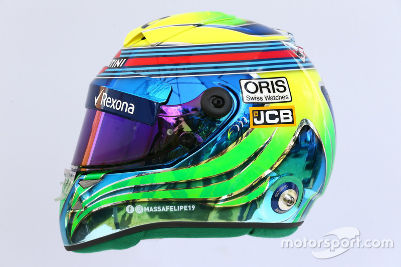 Helm von Felipe Massa, Williams
