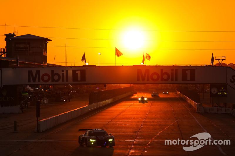 10. #57 Stevenson Motorsports Audi R8 LMS GT3: Andrew Davis, Lawson Aschenbach, Matt Bell