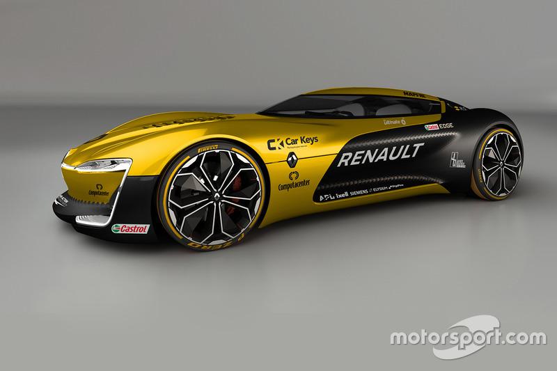 Renault Trezor en livery de Renault Sport F1 Team